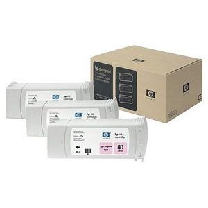 Genuine Hewlett Packard (C5071A) HP 81 Light Magenta Dye Ink