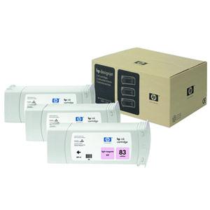 Genuine Hewlett Packard (C5077A) HP 83 Light Magenta UV Ink