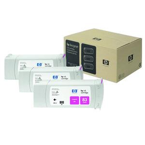 Genuine Hewlett Packard (C5074A) HP 83 Magenta UV Ink Cartridge