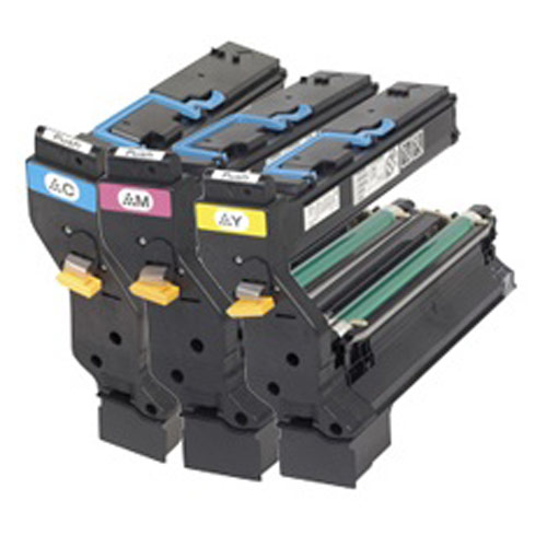 Genuine Konica Minolta 1710606 001 High Yield Color Toner Cartridge Value