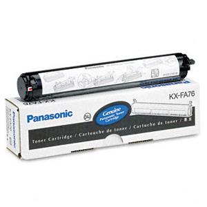 Genuine Panasonic KX-FA76 Black Toner Cartridge