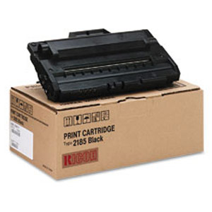 Genuine Ricoh 412660 Type 2185 Black Toner Cartridge