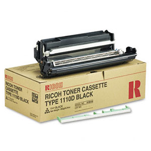 Genuine Ricoh 339587 Type 1110D Black Toner Cartridge