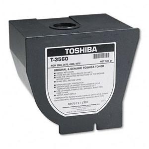 Genuine Toshiba T3560 Black Toner Cartridge
