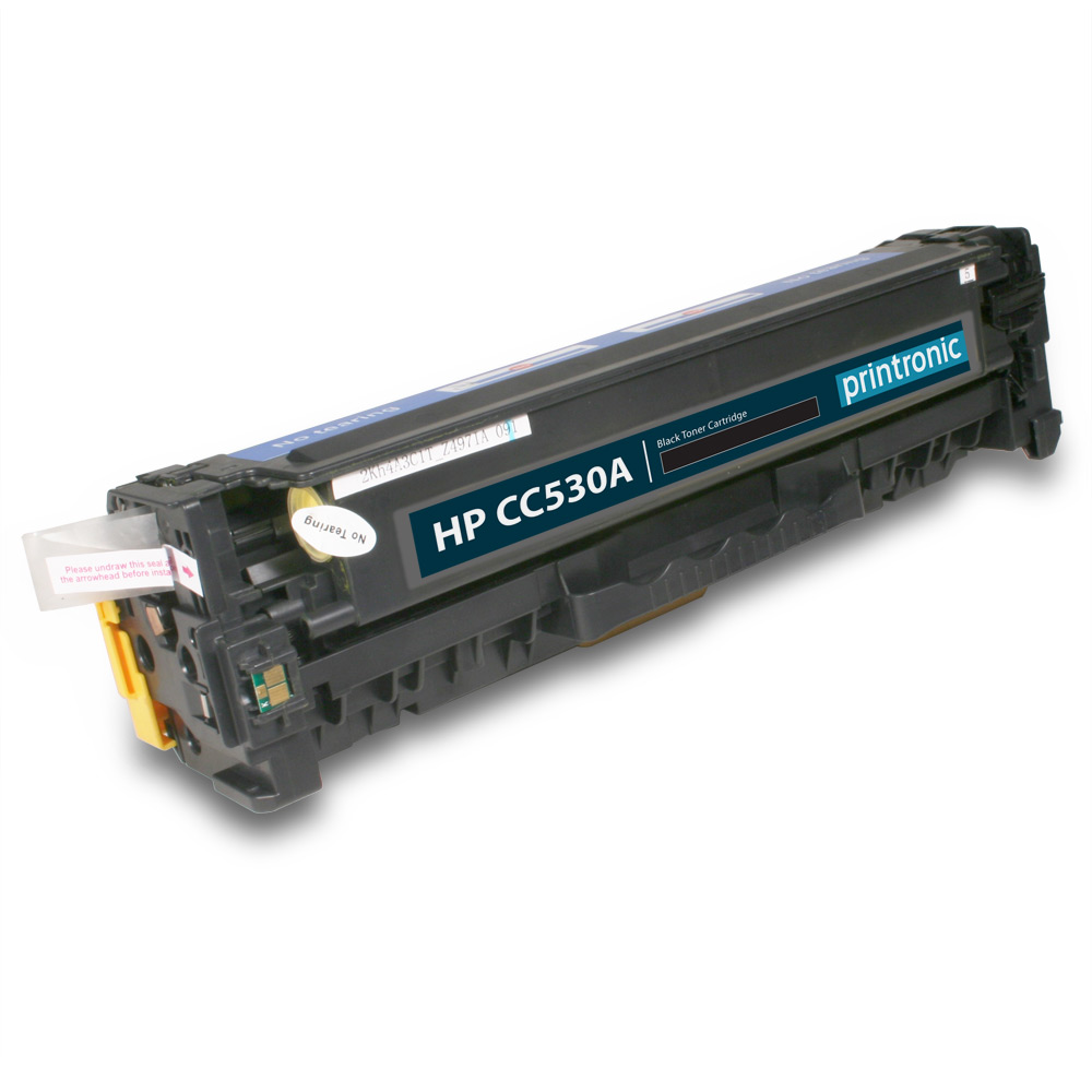 Compatible HP CC530A Black Toner Cartridge