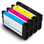 4 Pack Remanufactured of Epson 802 Ink Cartridge