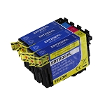 4 Pack Remanufactured Epson 202 202XL Ink Cartridge