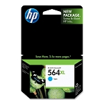 Genuine HP 564XL Cyan Ink Cartridge