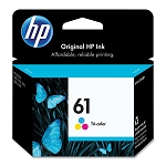 Genuine HP 61 Color Ink Cartridges
