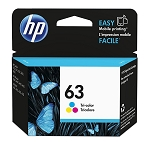 Genuine HP 63 Color Ink Cartridge