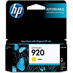Genuine HP 920 Yellow Ink Cartridge