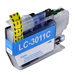 Compatible Brother LC-3011 Cyan Ink Cartridge
