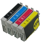 4 Pack of Compatible Epson 126 Ink Cartridge (B/C/M/Y)