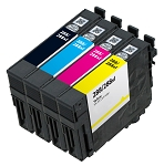 4 Pack Remanfactured Epson 288XL Ink Cartridge