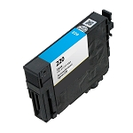 Remanufactured Epson 220 Cyan Ink Cartridge