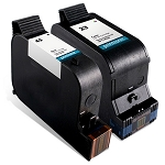 Compatible HP 45 and HP 23 Ink Cartridge Combo - 2 Pack