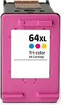 Compatible HP 64 64XL Color Ink Cartridge