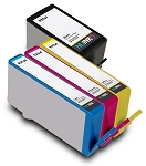 Compatible HP 934XL HP 935XL BK/C/M/Y Ink Cartridge - 4 Pack