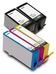 Compatible HP 934XL HP 935XL BK/C/M/Y Ink Cartridge - 5 Pack