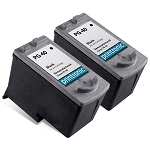 Compatible Canon PG-40 Black Ink Cartridges 2 Pack
