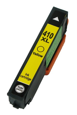 Remanufactured Epson 410 410XL Yellow Ink Cartridge