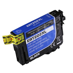Remanufactured Epson 202 202XL Black Ink Cartridge