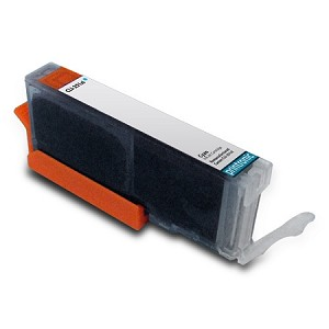 Compatible Canon CLI-251XL (6449B001) Pigment Cyan Ink Cartridge w/ Chip