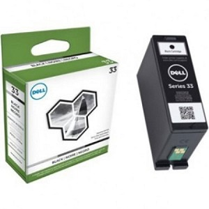 Genuine Dell Series 33 (R4YG3/T9FKK) Black Ink Cartridge