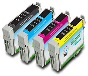 Compatible Epson T069120,T069220,T069320,T069420 BK/C/M/Y Ink Cartridge - 4 Pack
