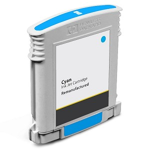 Compatible HP 10 (C4841A) Cyan Ink Cartridge