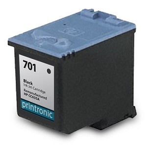 Compatible HP 701 (CC635A) Black Ink Cartridge