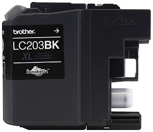 Genuine Brother LC-203BK High Yield Black Ink Cartridge