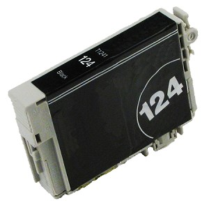 Compatible Epson 124 Black Ink Cartridge