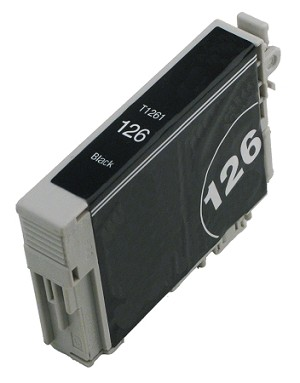 Compatible Epson 126 (T126120) High-Capacity Black Ink Cartridge