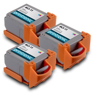 Compatible Canon BCI-11C (0958A003) Color Ink Cartridge 3 Pack