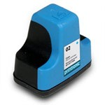 Compatible HP 02 (C8771WN) Cyan Ink Cartridge