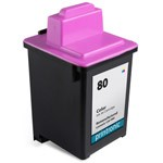 Compatible Lexmark #80 (12A1980) Color Ink Cartridge