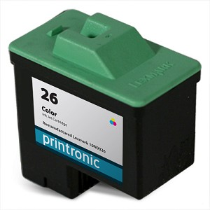 Compatible Lexmark #26 (10N0026) Color Ink Cartridge
