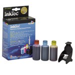InkTec Refill Kit for HP 22, 28, and 57 Inkjet Cartridges