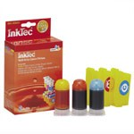 InkTec Refill Kit for Canon CLI-8C, CLI-8M, CLI-8Y Inkjet Cartridges