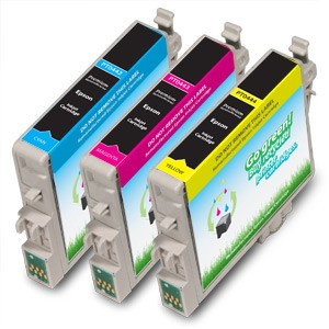 Compatible Epson* 44 (T044520) Color Ink Cartridge Multipack