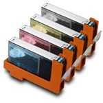 4 Pack Compatible Canon CLI-8 (Cyan/Magenta/Yellow/Black) w/ Chip