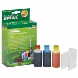 InkTec Refill Kit for Lexmark 26 and 27, Dell T0530 Inkjet Cartridges