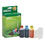 InkTec Refill Kit for Lexmark 83 and Dell 7Y745 Inkjet Cartridges