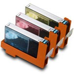 3 Pack Compatible Canon CLI-8 (Cyan/Magenta/Yellow) w/ Chip