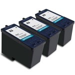 Compatible Lexmark 32 Black Ink Cartridge and (1) Lexmark 33  Color Ink Catridge - 3 Pack