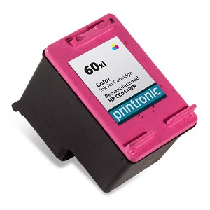 Compatible HP 60XL (CC644WN) High Capacity Color Ink Cartridge
