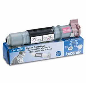 Genuine Brother TN-250 Black Toner Cartridge