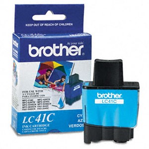 Genuine Brother LC-41C Cyan Ink Cartridge
