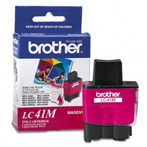 Genuine Brother LC-41M Magenta Ink Cartridge